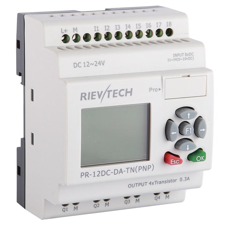 RIEVTECH,Micro Automation Sulutions Provider. Programmable Relay PR-12DC-DA-TN
