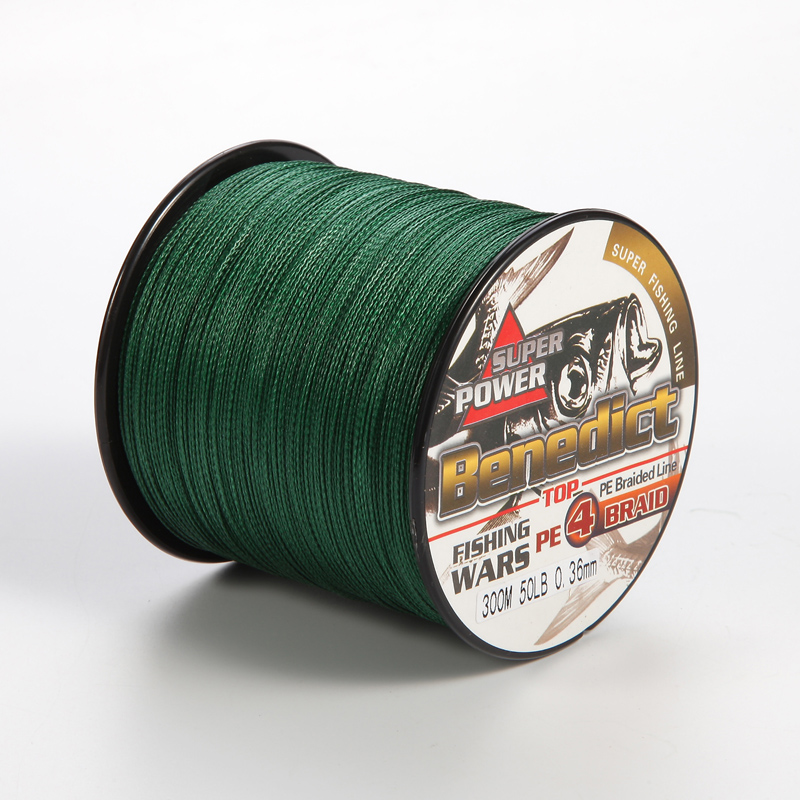 300M Brand new PE Multifilament Braided Fishing Line 4 Strands 6 8 10 15 20 25 30 35LB Carp Fishing Spear fishing Rope pe Cords
