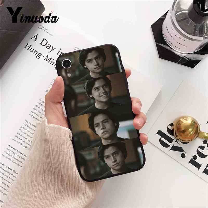 Yinuoda American TV Riverdale Series Cole Sprouse DIY Luxury  Phone Case for iPhone 8 7 6 6S 6Plus X XS MAX 5 5S SE XR 10 Cases