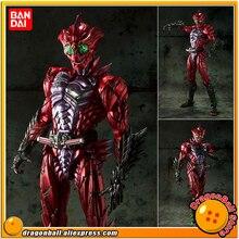 Original BANDAI Tamashii Nations SPIRITS SIC/SUPER IMAGINATIVAS CHOGOKIN Figura de Ação Kamen Rider Alfa