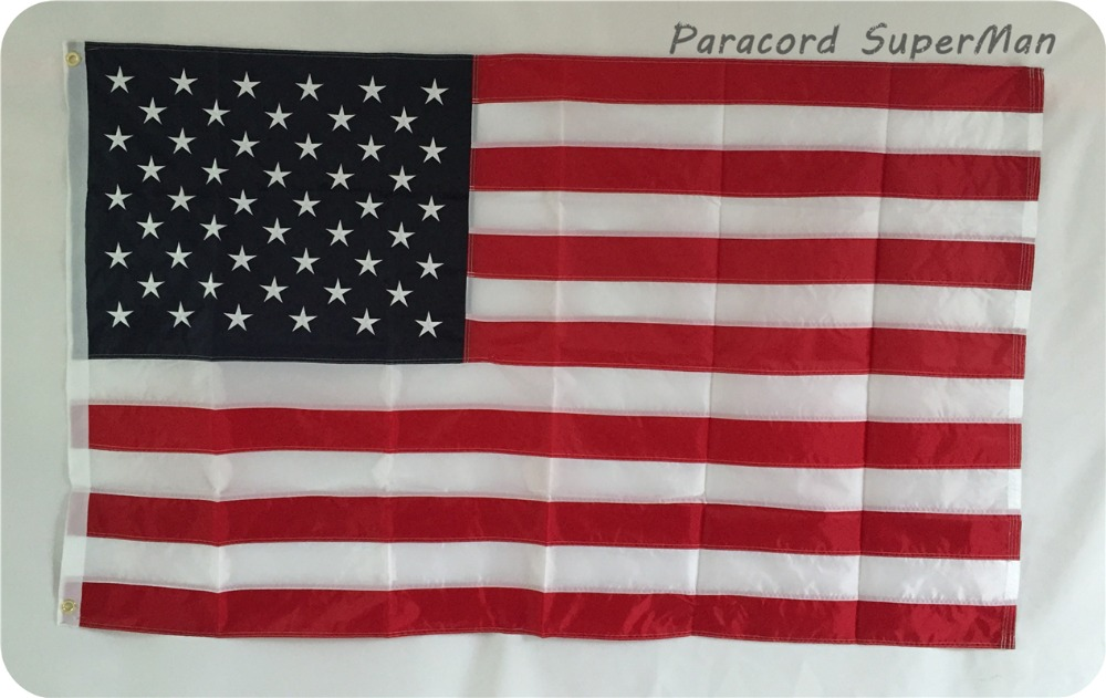 ФОТО 2PCS EMBROIDERED STARS 5*8 ft Hanging USA American National Embroidery Flag Embroidered Stars Polyester Print 150*240 cm