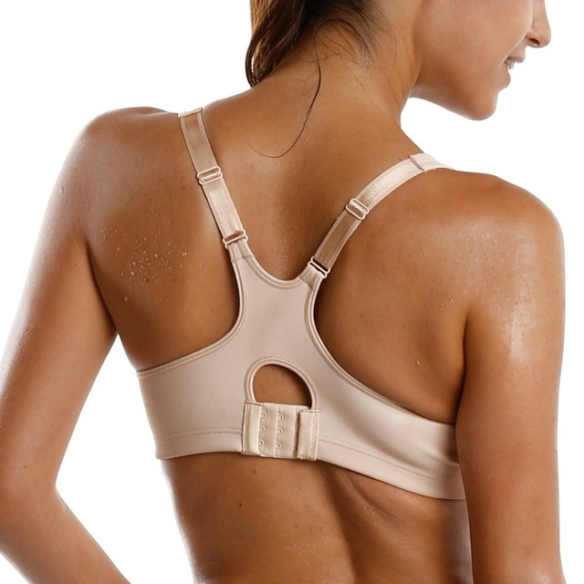 High Impact Underwire Non Padded Powerback Support Bra