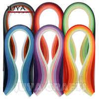 JUYA бумажная Quilling 30 оттенков, длина 390 мм, ширина 3/5/7/8 мм, 600 полосок, всего DIY бумажная полоса, поделки из бумаги ручной работы