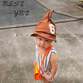 2016 Новых Корейских Детей Шапка Прилив Заостренный Шляпа Ничего В Большой Буквы G Дамских Hat Осень Пункт Девушки Детей Cap