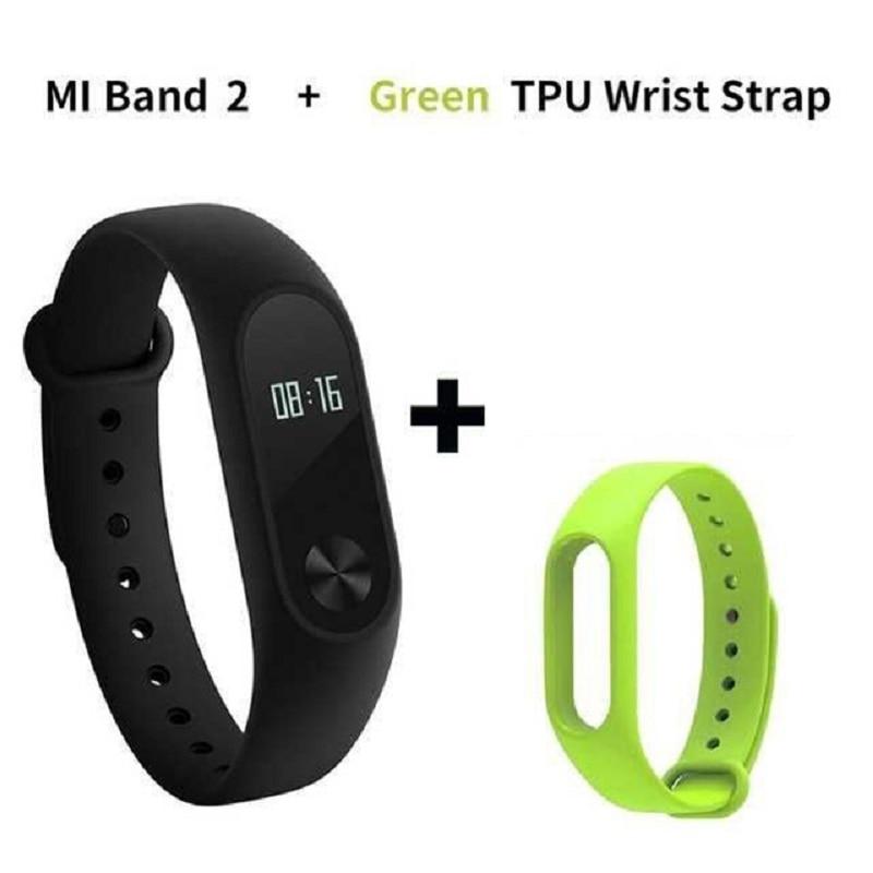 New Promotion! Original Xiaomi Mi Band 2 Miband Band2 Wristband Bracelet Smart Heart Rate Fitness Tracker Touchpad OLED Strap