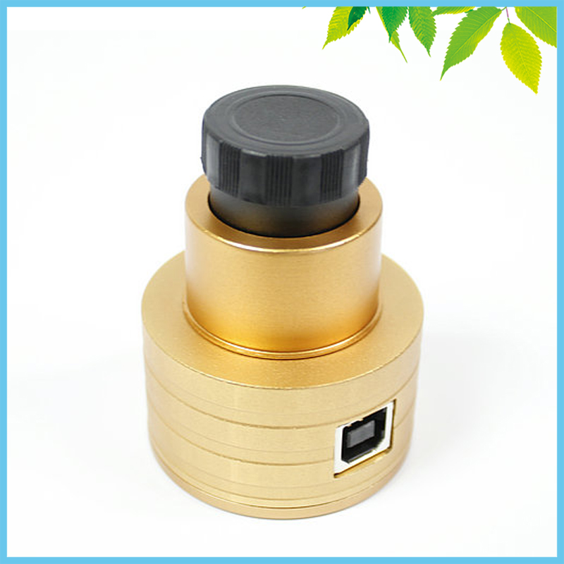2MP Universal Professional Astronomical Telescope Digital Eyepiece USB CMOS Electronic Eyepiece Camera 1.25 0.91 Inch Golden цена