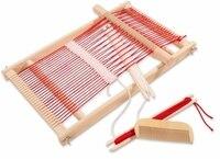 Miễn phí Vận Chuyển! Bé Đồ Chơi Đa-Craft Dệt Loom Child Giả Vờ Chơi Đồ Chơi Giáo Dục Đồ Chơi Bằng Gỗ quà tặng cho em gái