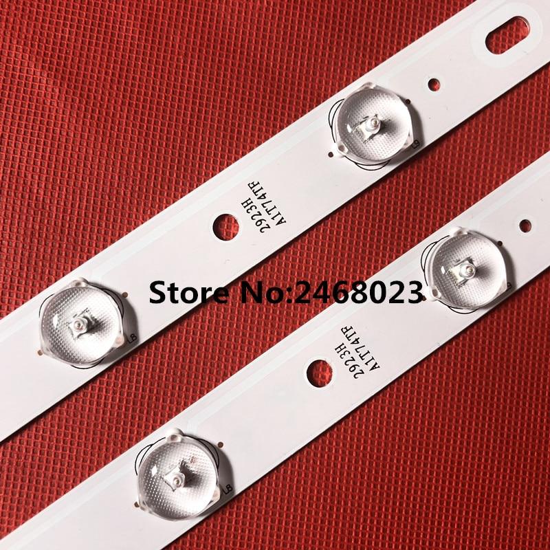 1set =10 pieces 100%New KO NKA KL32GT618 LED backlight 35017727 10leds 64.4cm-in LED Bar Lights from Lights & Lighting    3