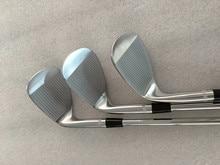 Tout nouveau coin SM7 coin de Golf SM7 argent SM7 Clubs de Golf 48/50/52/54/56/58/60/62 degrés arbre en acier avec couvercle de tête