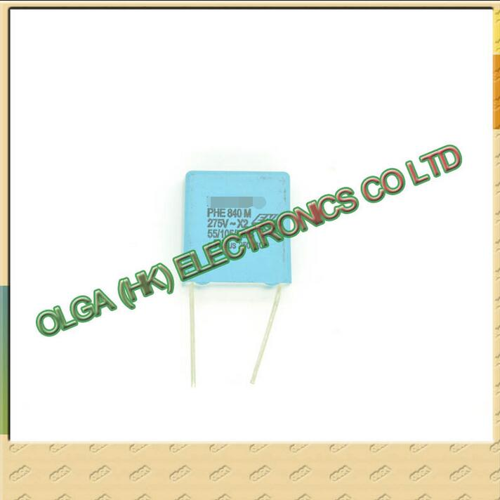 Indonesia  PHE840 X2 Safety Film Capacitor 0.47 Uf 470 Nf 474 275 Vac P15