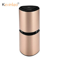 Kevinleo Ionizer Portable Ionic Ionizer Car Air Purifier with Dual USB Ports for Car home Office