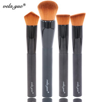 Professional 18pcs Make Up Brush Kit Superfine Hair Anti Allergic Brush Kit Free Shipping