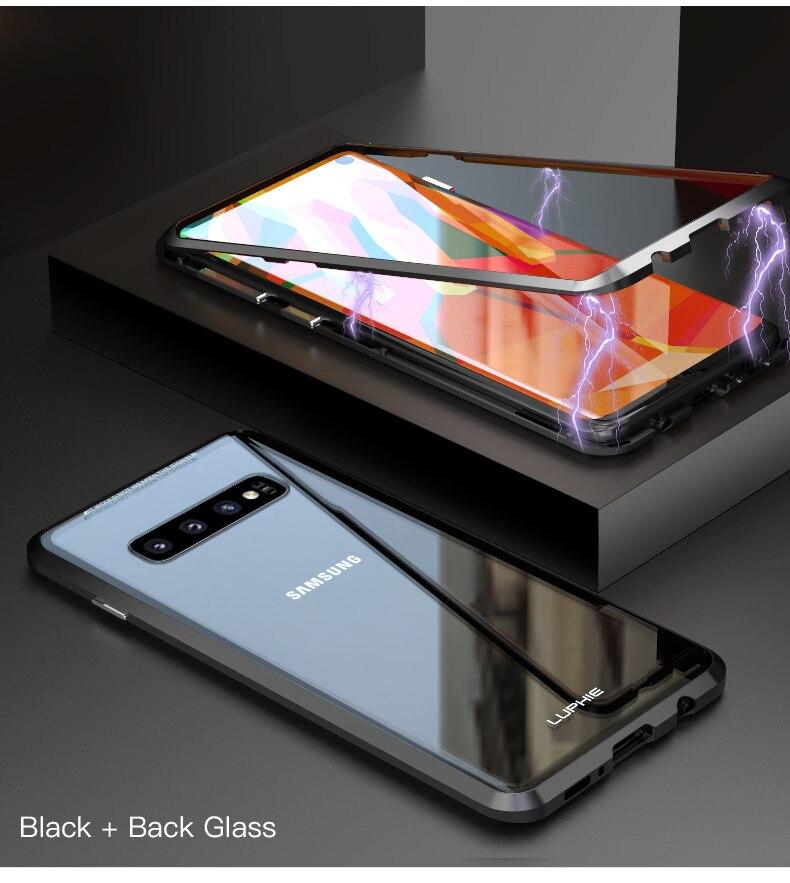 Samsung S10 Plus S10e magnet glass Case (14)