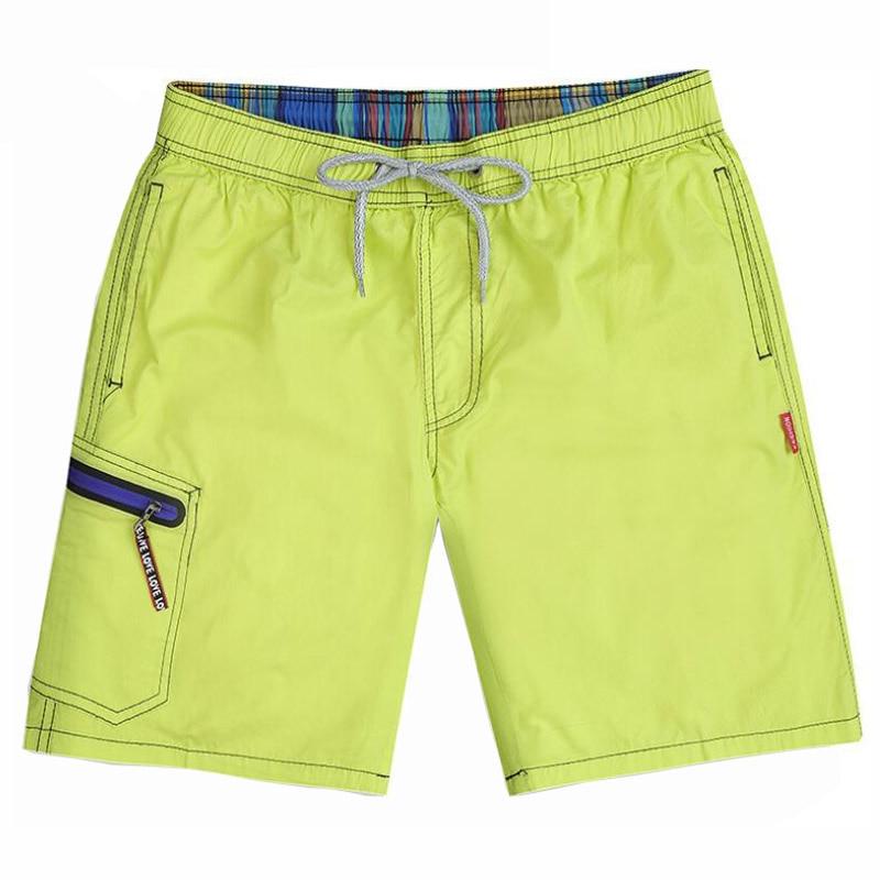 Mens Knee Length Fashion Beach Shorts Men Cotton Khaki Casual Short Pants Men Solid Workout Sweat Board Shorts