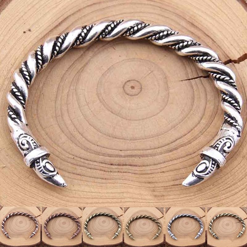 Yage 7 Cores 1 pcs 3.5 oz Pulseira Grande dos homens dos homens Do Vintage Pulseiras Viking Handmade Torção Pulseira de Alta Qualidade