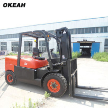 CPCD50F Diesel Powered Forklift Truck 5000kg Construction Site using forklift