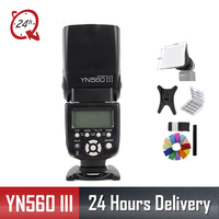 Original Yongnuo YN 560III Professional Flash Speedlight Flashlight Yongnuo YN 560 III for Canon Nikon Pentax Olympus Camera