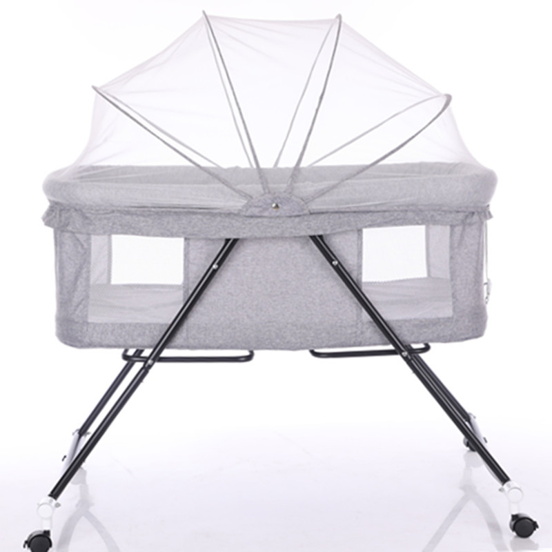 Multi-function Baby Cribs Newbaby Bassinet Portable Bed Infant Travel Sleeper Portable Cot Breathable Folding Cribs