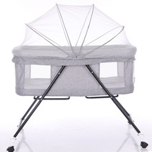Multi-function Baby Cribs Newbaby Bassinet Portable Bed Infant Travel Sleeper Portable Cot Breathable Folding Cribs maverick folding cot cf0933l