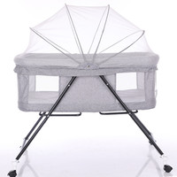 Multi function Baby Cribs Newbaby Bassinet Portable Bed Infant Travel Sleeper Portable Cot Breathable Folding Cribs