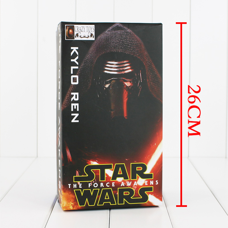 Crazy Toys Star Wars 7 The Force Awakens KYLO REN PVC Action Figure Collectible Model Toy 20cm crazy toys star wars the force awakens kylo ren pvc action figure collectible model toy 22cm tmd088