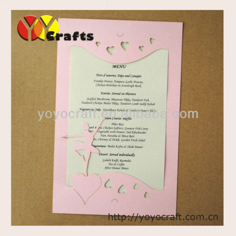 Aliexpress Buy 35 offlaser cut various colors and sizes – Paper Invitation Cards