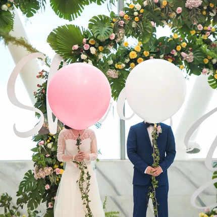 5 pcs 24 polegada Macaron doce Balão de Hélio balões de Látex Para A Festa de Aniversário de Casamento Casa Decration