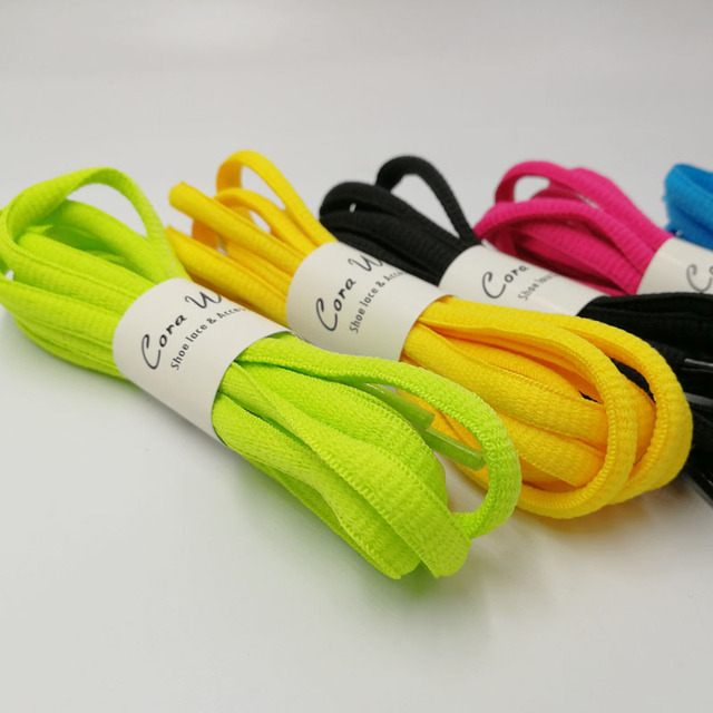 3 PAIRs 100 CM Practical Oval Athletic SHOELACE Sport Sneaker Boots Shoe Laces Strings ASL681A-3