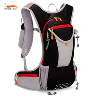7 Color 15L Outdoor Bags Hiking Backpack Vest Marathon Running Cycling Backpack For 2L Water Bag