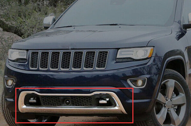 ABS 2014 2015 For Jeep Grand Cherokee Front Bottom Grill Grille Bumper  Protector