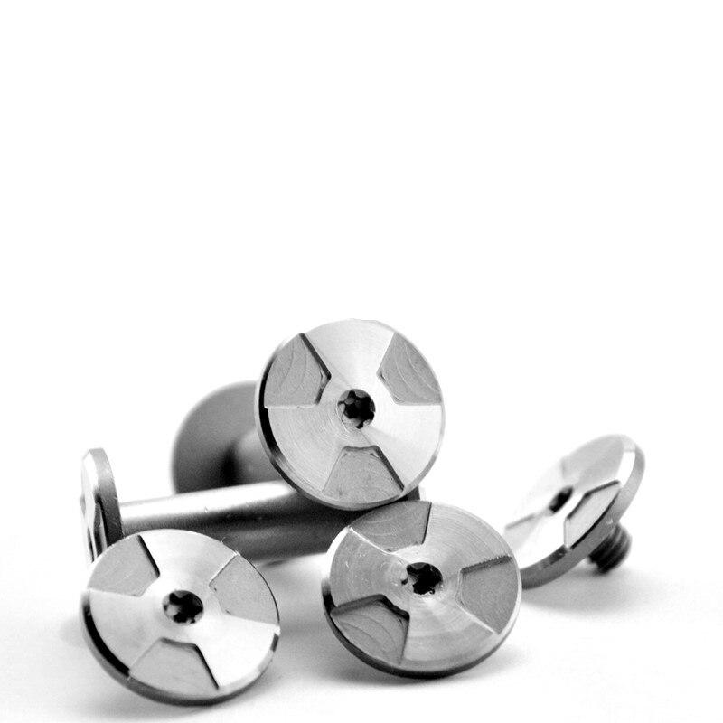 Lidar com material DIY parafuso para bloquear punho rebite alça parafuso M3.5 parafuso do eixo alça DIY prego