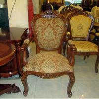 Familie eetkamerstoel, hotel eetkamerstoel, houten eetkamerstoel, Europese stijl
