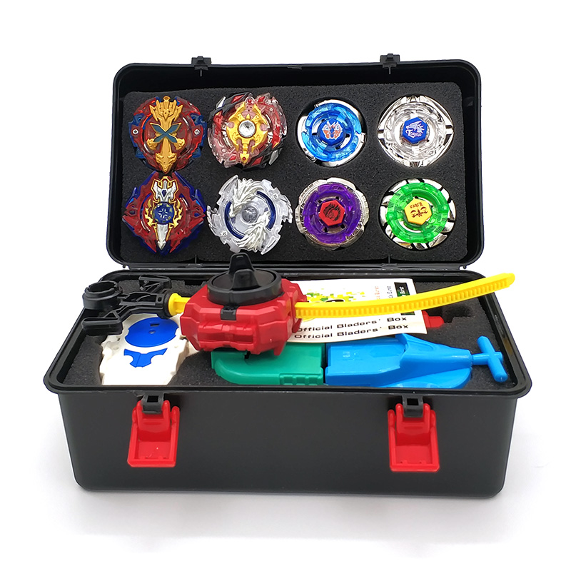 Toupie Beyblades Metal Fusion Beyblades Set Storage Box Top Beyblade burst  bey blade Launcher Beyblade Toys For Children Boy  цена