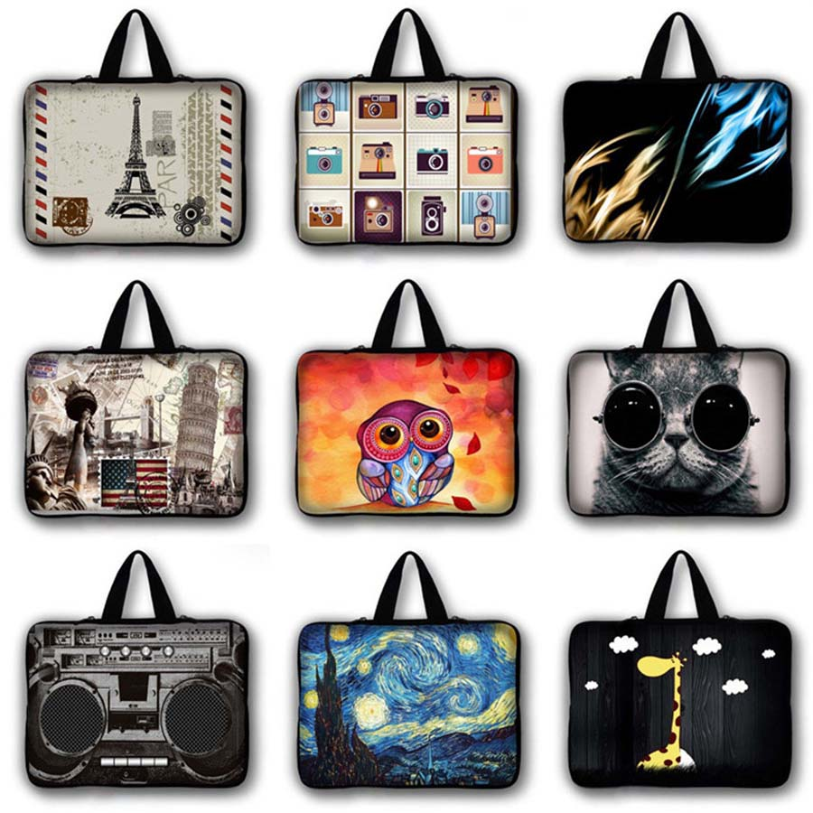 Waterproof Laptop Bag Protective case Notebook Sleeve Computer Cover 7 10 12 13 14 15 17 inch For Macbook Air Pro 13 15 LB 5022 in Laptop Bags Cases from Computer Office
