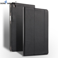 XIN MUM Genuine Leather Case for Xiaomi Mi pad 4 Plus 10.1'' cases filp Stand magnet Cover for Mipad 4 Mi pad 4 Plus case + Pen