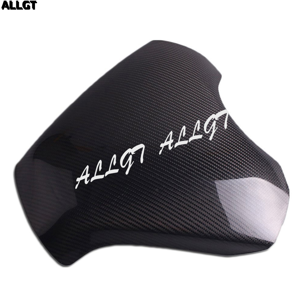 ALLGT New Carbon Fiber Fuel Gas Tank Cover Protector For Hayabusa GSXR1300 2008-2015 yandex w205 amg style carbon fiber rear spoiler for benz w205 c200 c250 c300 c350 4door 2015 2016 2017