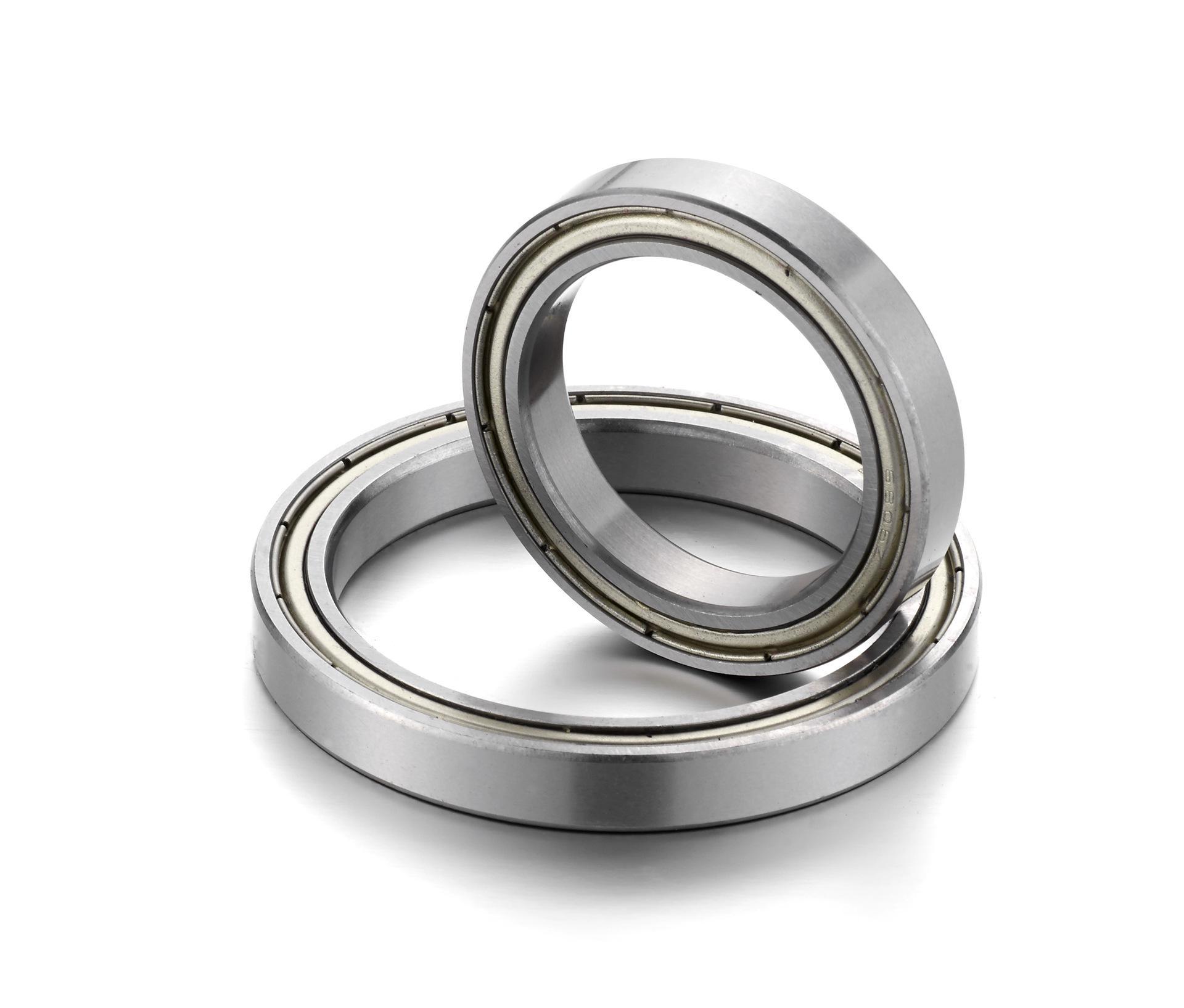 6915ZZ ABEC-1 (2PCS)  75x105x16MM  Metric Thin Section Bearings 61915ZZ 6915Z 1pcs 71901 71901cd p4 7901 12x24x6 mochu thin walled miniature angular contact bearings speed spindle bearings cnc abec 7