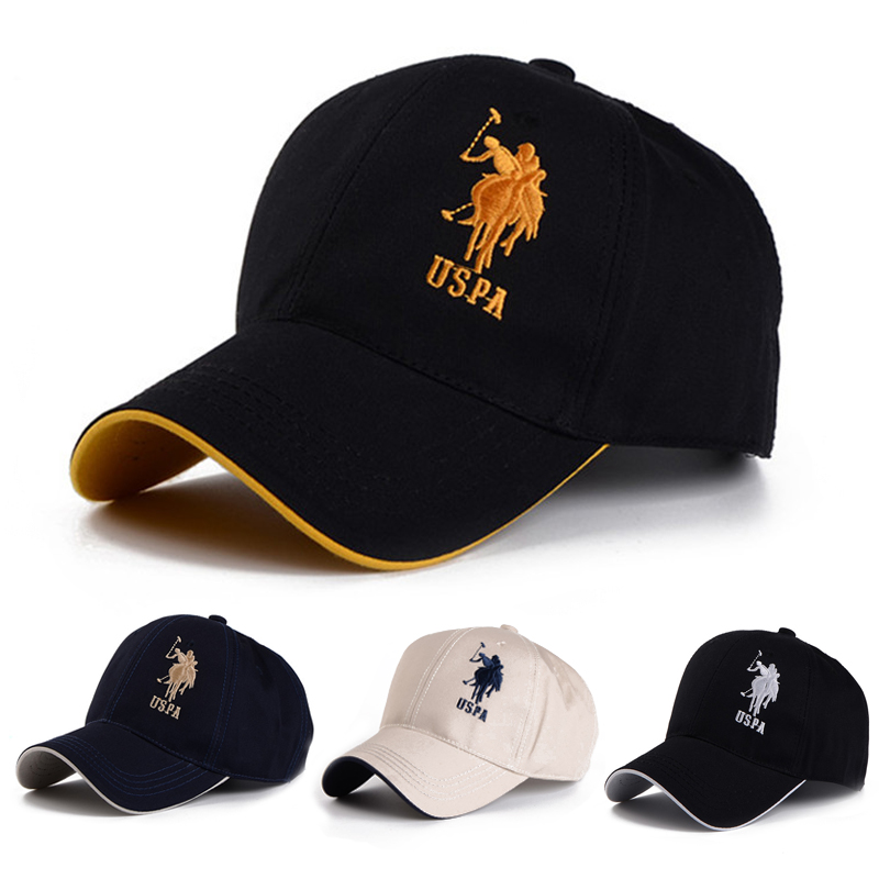 Polo Cap USPA Baseball Cap Sport Hat Gorras Planas Snapback Caps Hip Hop Hats Last Kings Snapbacks Casquette Cotton Adjustable