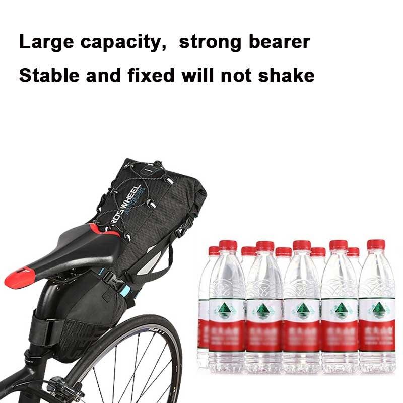 ROCKBROS 24л большой емкости водонепроницаемый велосипедный рюкзак для мужчин и женщин школьная сумка для улицы для верховой езды, туризма, спор... - 3