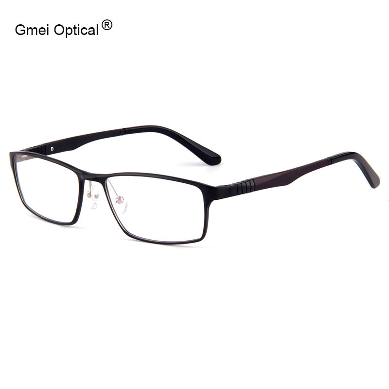 310a203163 Fashion Full Rim Eyeglasses Frames Brand Designer Business Men Frame Women  Hydronalium Glasses Frames With Spring Hinge On Legs-in Eyewear Frames from  ...
