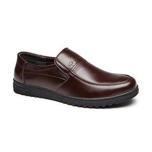 Image 3 - Mazefeng אביב זכר שמלת נעלי אופנה גברים נעליים יומיומיות אמיתי עור נעלי גברים עסקים לנשימה פרה עור בוהן מרובע