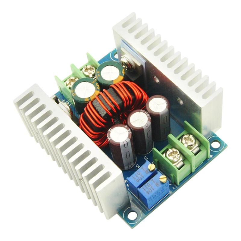 цена на 300W 20A DC-DC Power Converter Boost Module Step-up Constant Power Supply Module LED Boost Module Wholesale