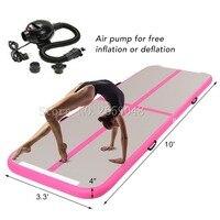 Надувной воздушный трек акробатика гимнастика коврик серии надувные акробатика коврик воздушный акробатика трек с электрическим насосом