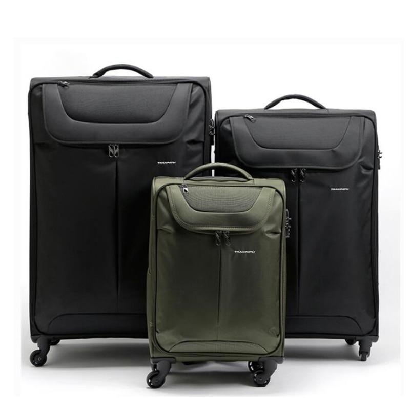 TRAVEL TALE 20 24 28 32 inch waterproof large capacity luggage spinner wheels travel bag mens