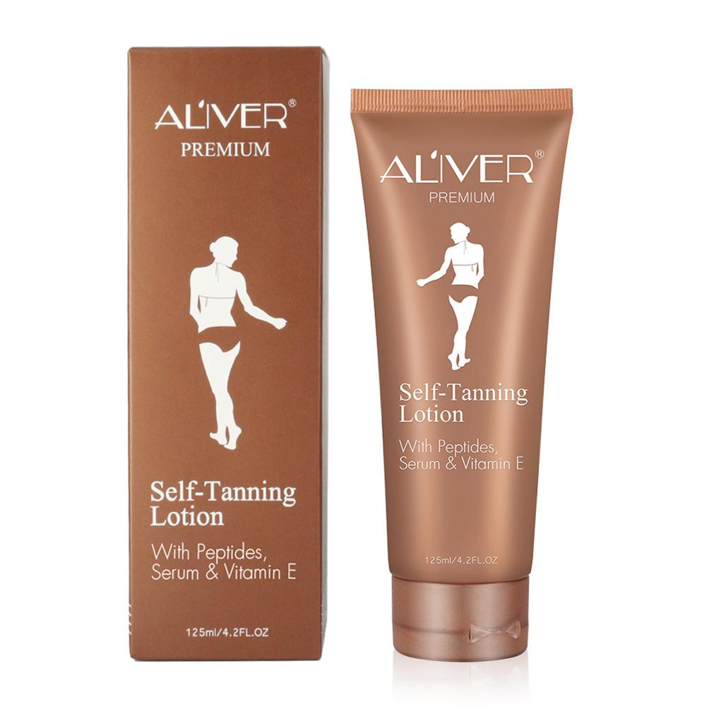 Self Tanner Self Tanning Cream Body Black Bronze Tanning Long Lasting Sunless Lotion 125ML 2