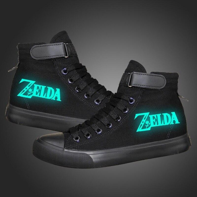 Zelda cosplay Canvas Shoes  1