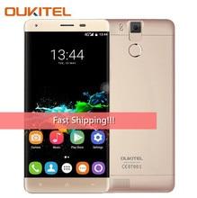 Оригинальный Oukitel K6000 Pro 5.5 дюймов fhd MTK6753 восьмиядерный смартфон 3 ГБ Оперативная память 32 ГБ Встроенная память Android 6.0 6000 мАч батареи мобильного телефона