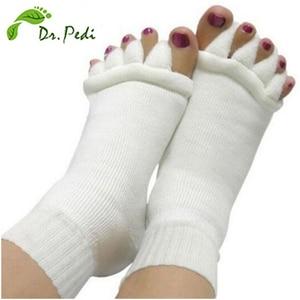 Toe Separator Yoga Socks Foot Massager Sleeping Health Bunion corrector Foot Care Relaxing Compression Sock