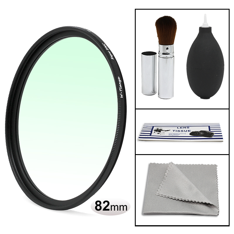 WTIANYA 82mm HD SLIM UV Protector Multi-Coated MCUV Filter for 82 mm Digital Camera Lens