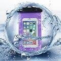 Piscina À Prova D' Água Sacos de acessórios Do Telefone Móvel com Alça de Bolsa Seca casos capa para iphone 6 5s se 6 s plus caso de natação